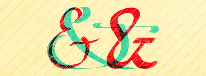 Etaday free Font poster