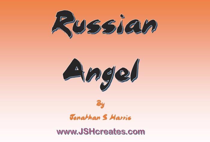 Russian Angel Font poster