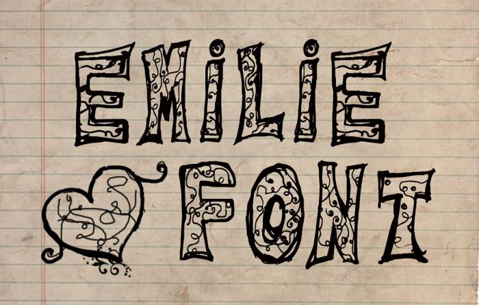 Emilie Font poster