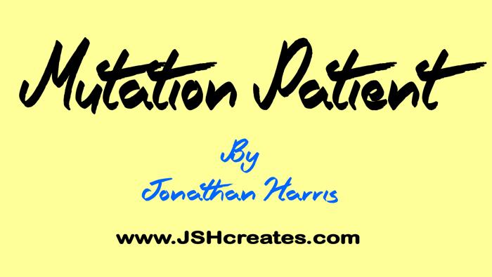 Mutation Patient Font poster