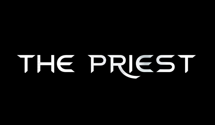 The Priest Font poster