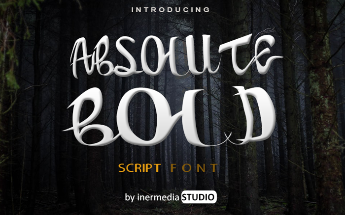 ABSOLUTE Font poster