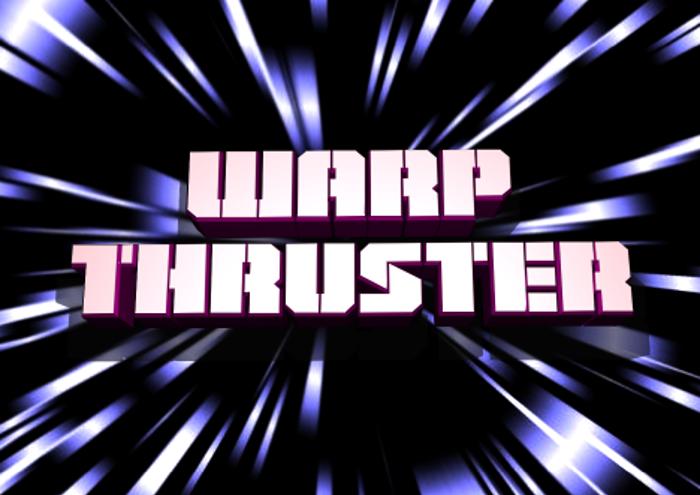 Warp Thruster Font
