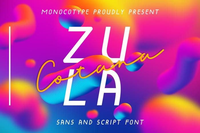 Cotana Font poster