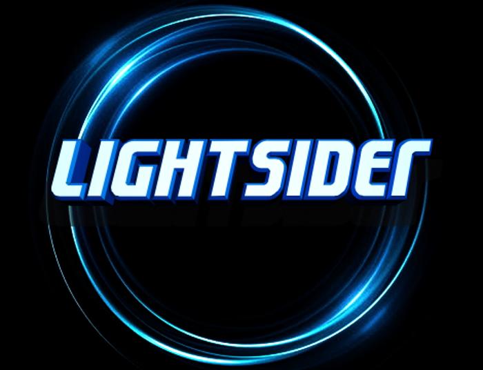 Lightsider Font poster