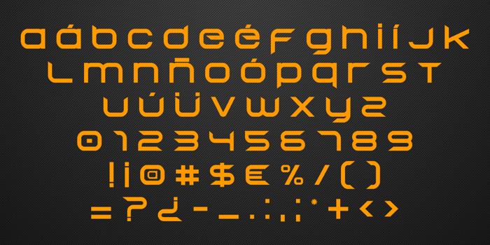Begok v15 Font poster