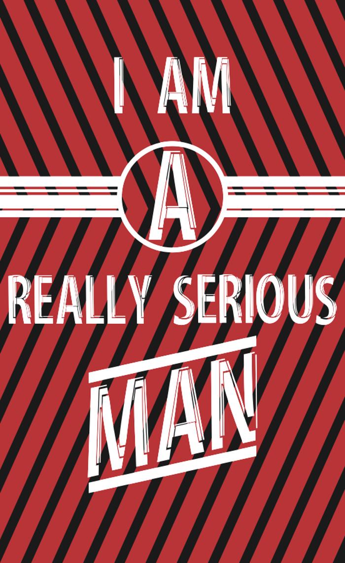 Serious Man Font
