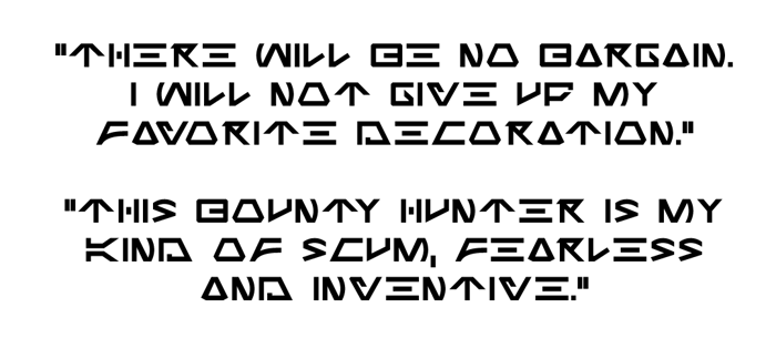 Jabba the Font poster