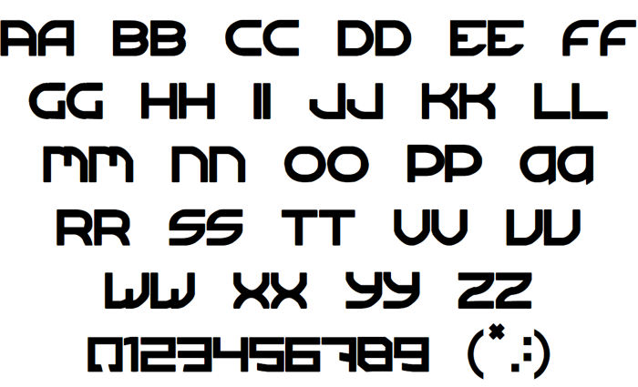 Sergeant TechnicFont 2 Font poster