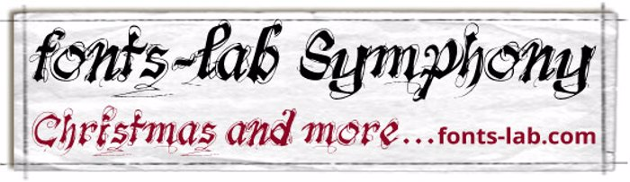 fonts-lab Symphony_demo poster