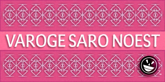 Varoge Saro Noest Font poster