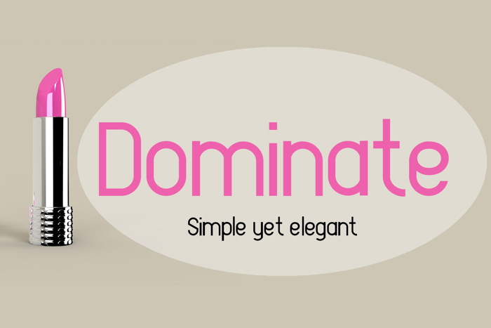 EP Dominate Font poster