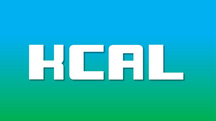 KCAL Font poster