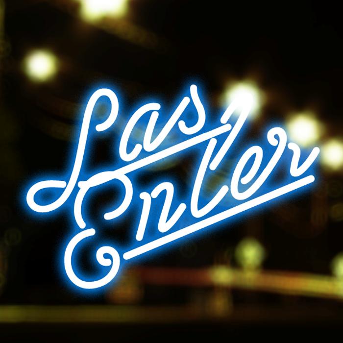 Las Enter Font poster