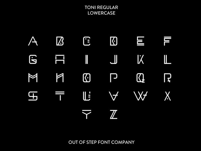 Toni Demo Font poster