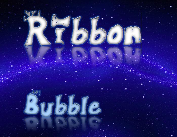 Ribbonbubble Font poster