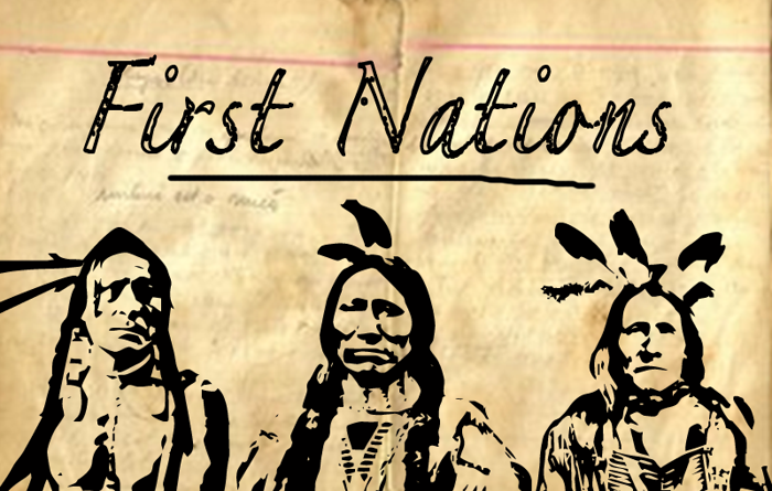 First Nation Font poster