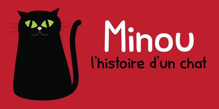 Minou Font poster