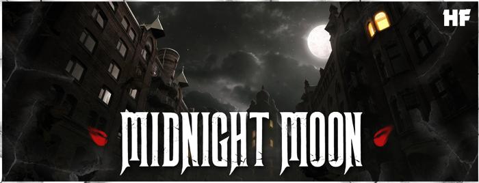 Midnight Moon Font poster