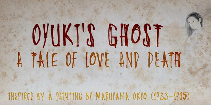 DK Oyukis Ghost Font poster