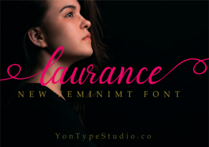 laurance Font poster