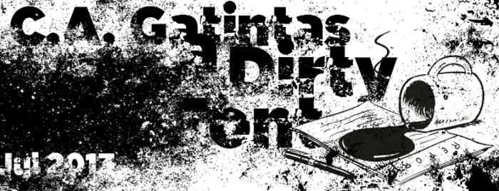 C.A. Gatintas Font poster