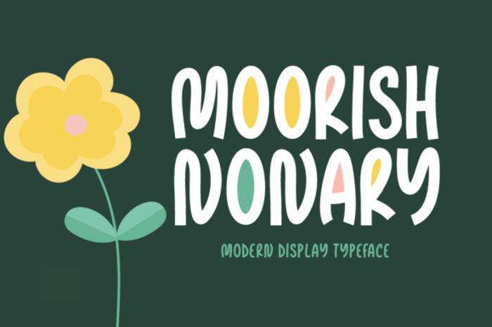 Moorish Nonary Font poster