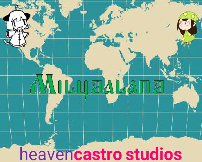 Miludaland Font poster