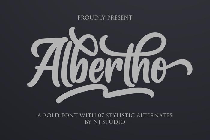 Albertho Font poster