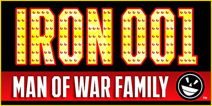 IRON MAN OF WAR 2 NCV Font poster