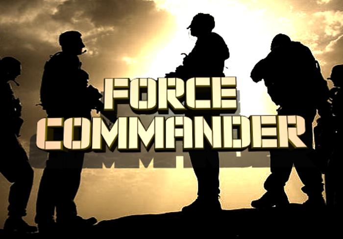 Force Commander Font poster
