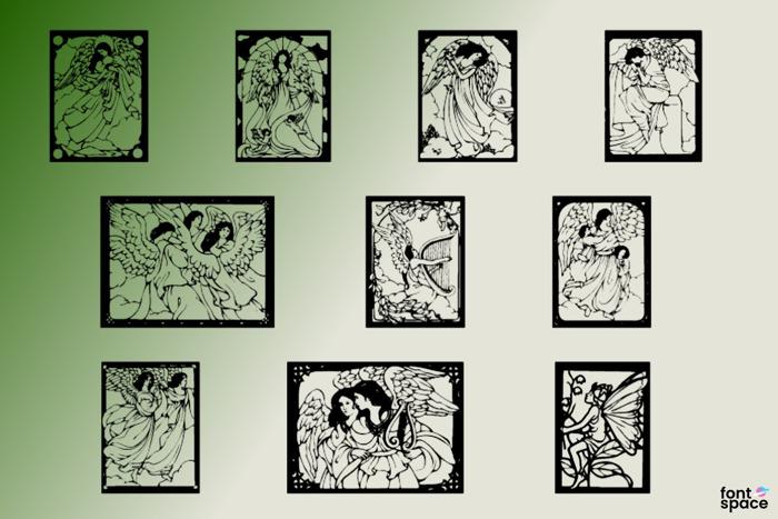 Angels Fairies Font