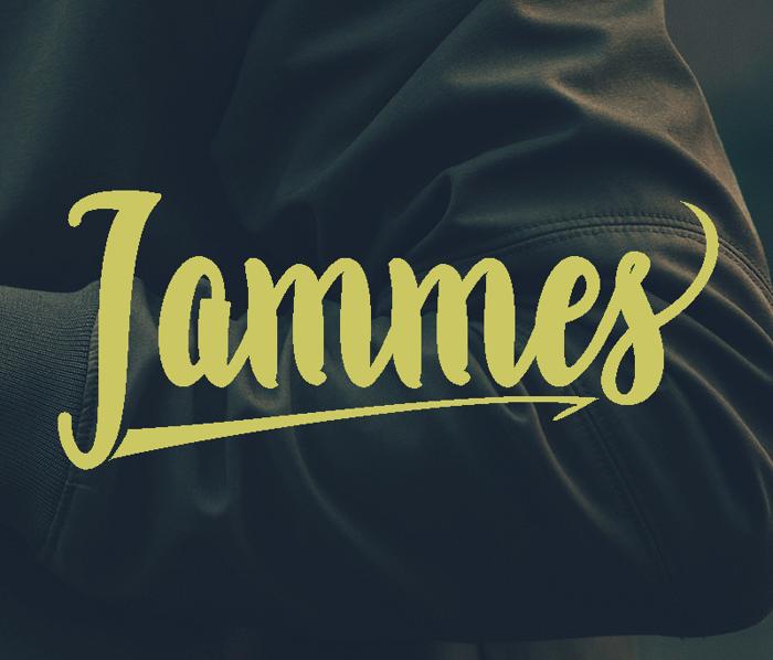 Jammes  Font poster