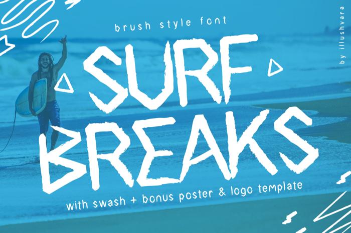 Surfbreaks Font
