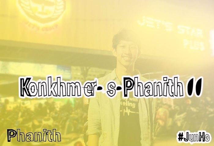 KonKhmer_S-Phanith11 Font poster