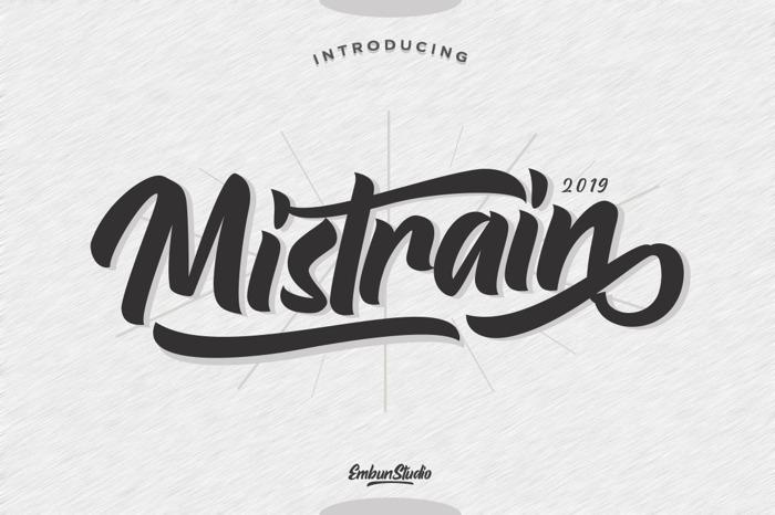 Mistrain poster