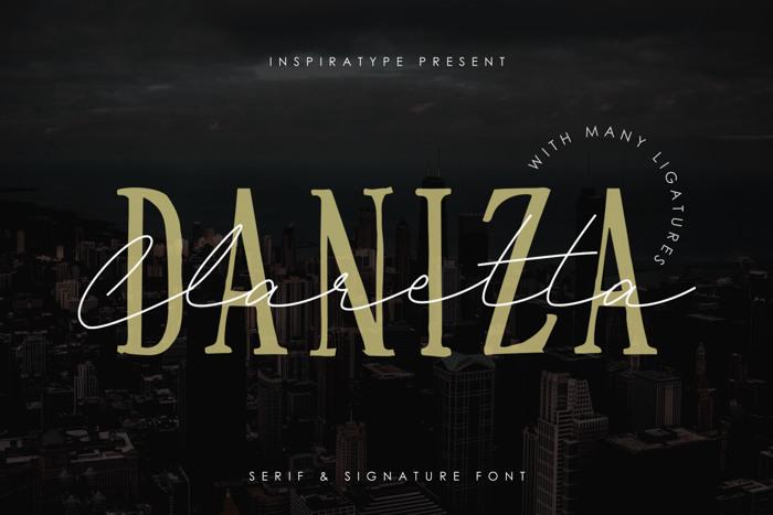 Daniza Claretta Font poster