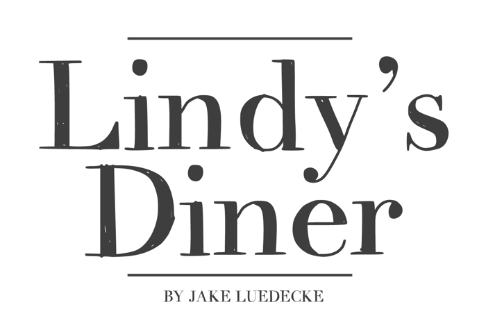 LindysDiner Font poster