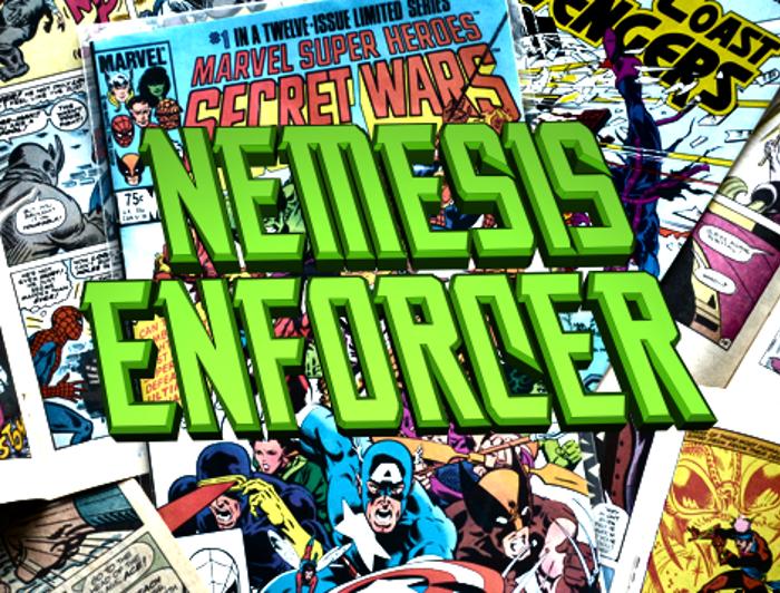 Nemesis Enforcer Font poster