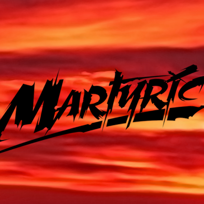 Martyric Font poster