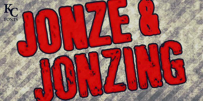 Jonze & Jonzing Font