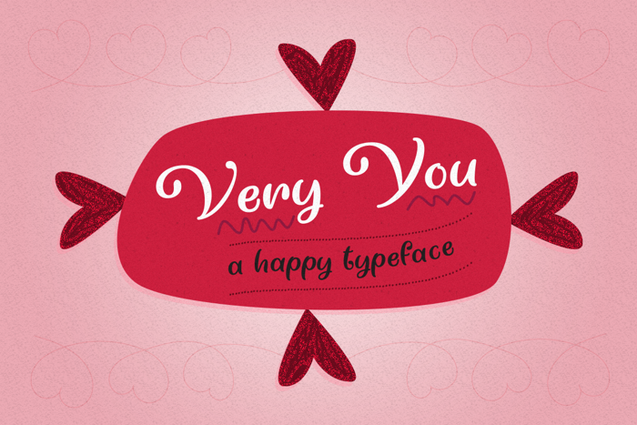 Very You Font poster