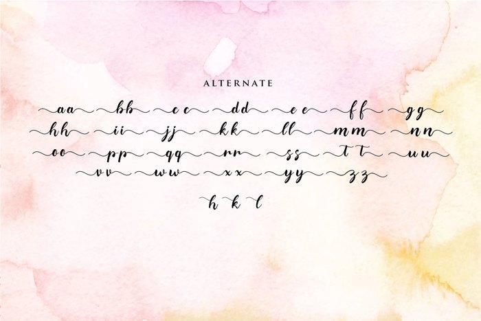 merlia Font poster