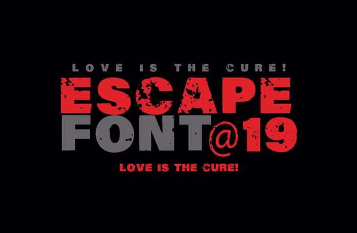 Vtks Escape Font poster