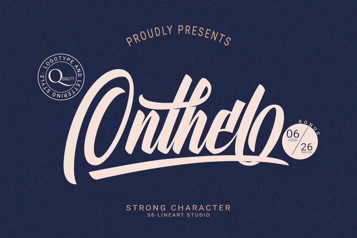 Onthel Font poster
