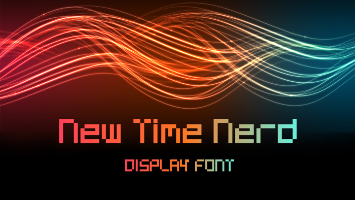 New Time Nerd Font poster