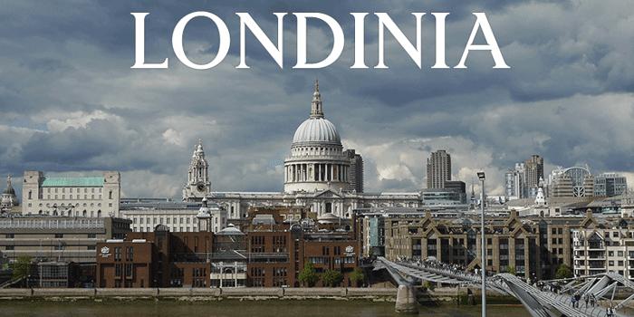Londinia Medium Font poster