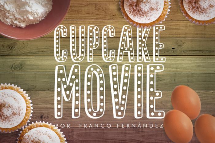 Cupcake Movie Font poster