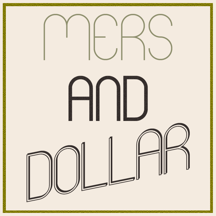 Mers Font poster