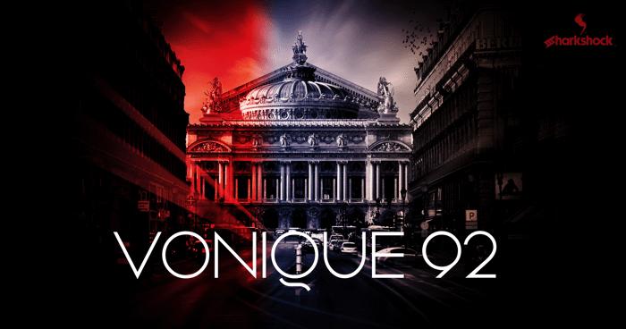 Vonique 92 Font poster